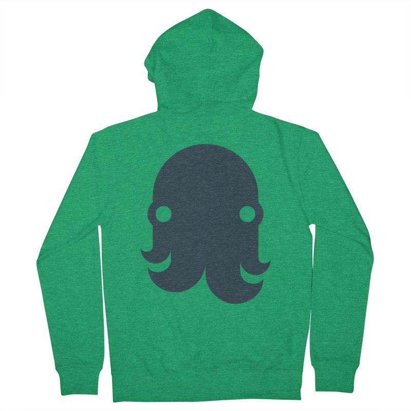 The Kraken! (Navy) Women's Zip-Up Hoody by octopy