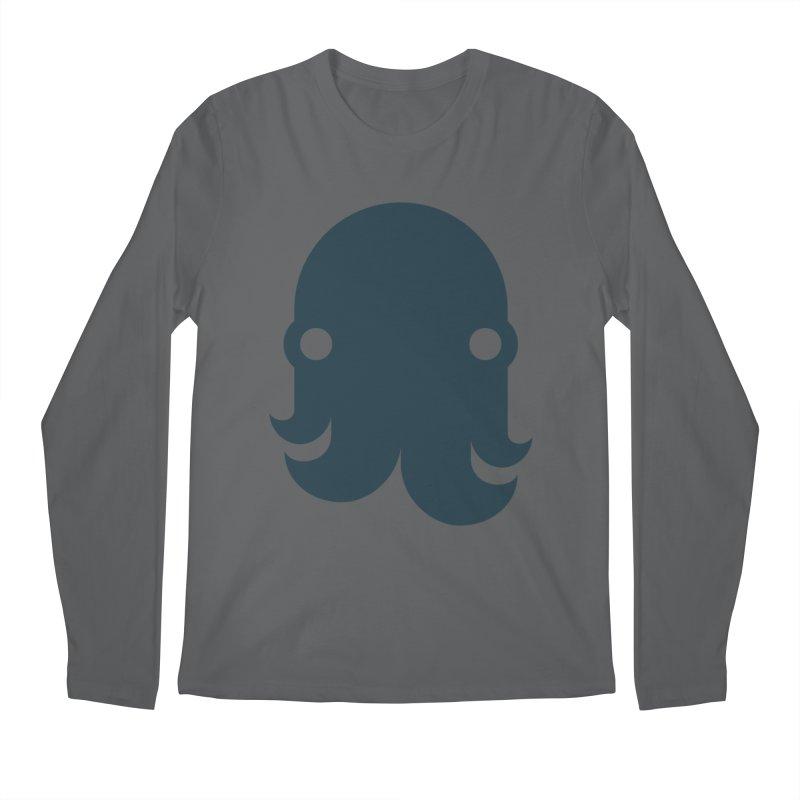 The Kraken! (Navy) Men's Longsleeve T-Shirt by octopy
