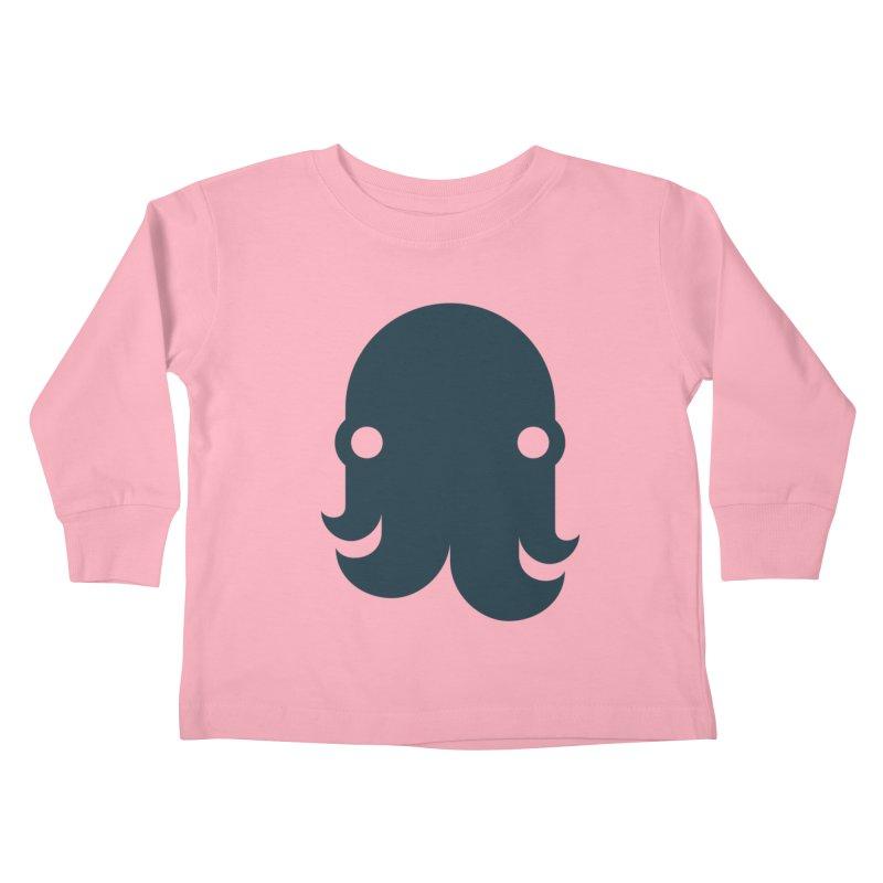 The Kraken! (Navy) Kids Toddler Longsleeve T-Shirt by octopy