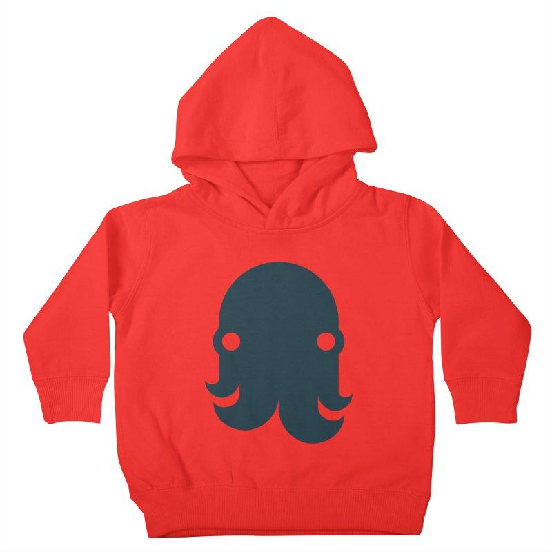 The Kraken! (Navy) Kids Toddler Pullover Hoody by octopy