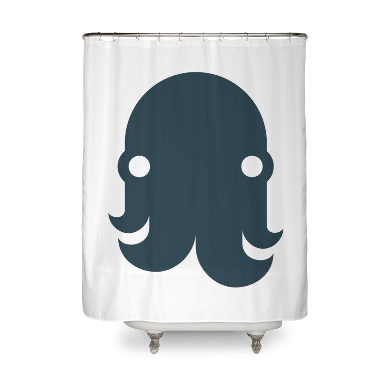The Kraken! (Navy) Home Shower Curtain by octopy
