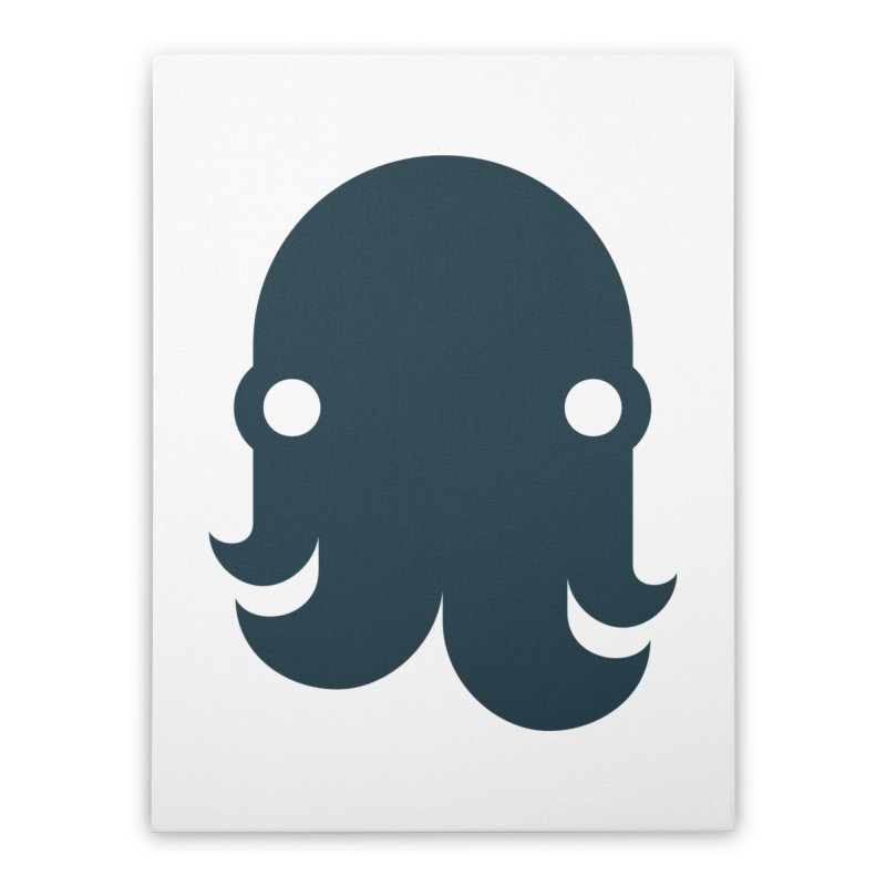 The Kraken! (Navy) Home Stretched Canvas by octopy