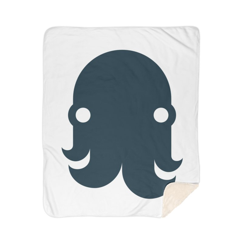 The Kraken! (Navy) Home Blanket by octopy