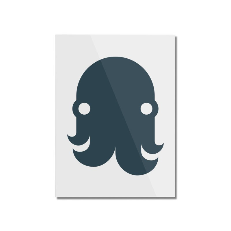 The Kraken! (Navy) Home Mounted Acrylic Print by octopy