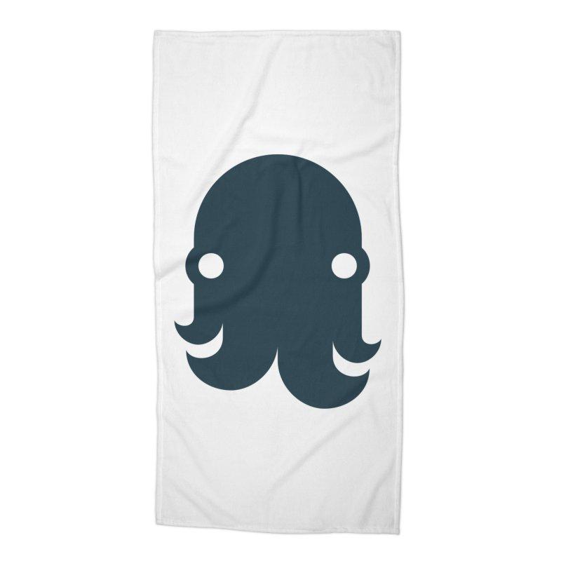 The Kraken! (Navy) Accessories Beach Towel by octopy