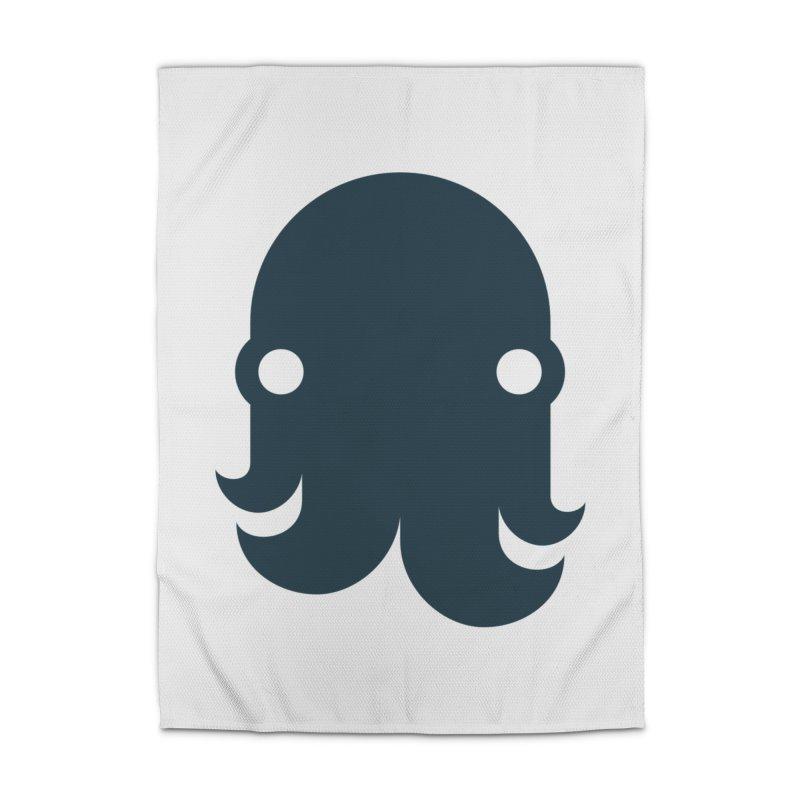The Kraken! (Navy) Home Rug by octopy