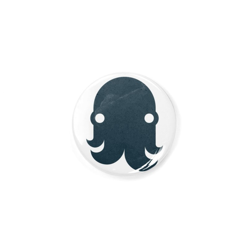 The Kraken! (Navy) Accessories Button by octopy