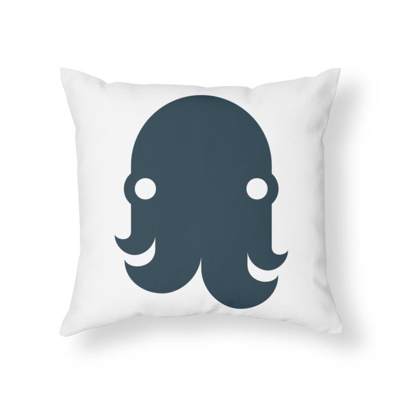 The Kraken! (Navy) Home Throw Pillow by octopy