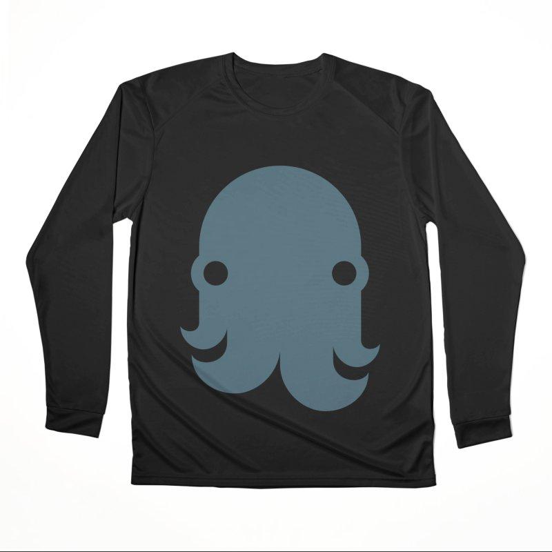 The Kraken! (Slate) Men's Longsleeve T-Shirt by octopy
