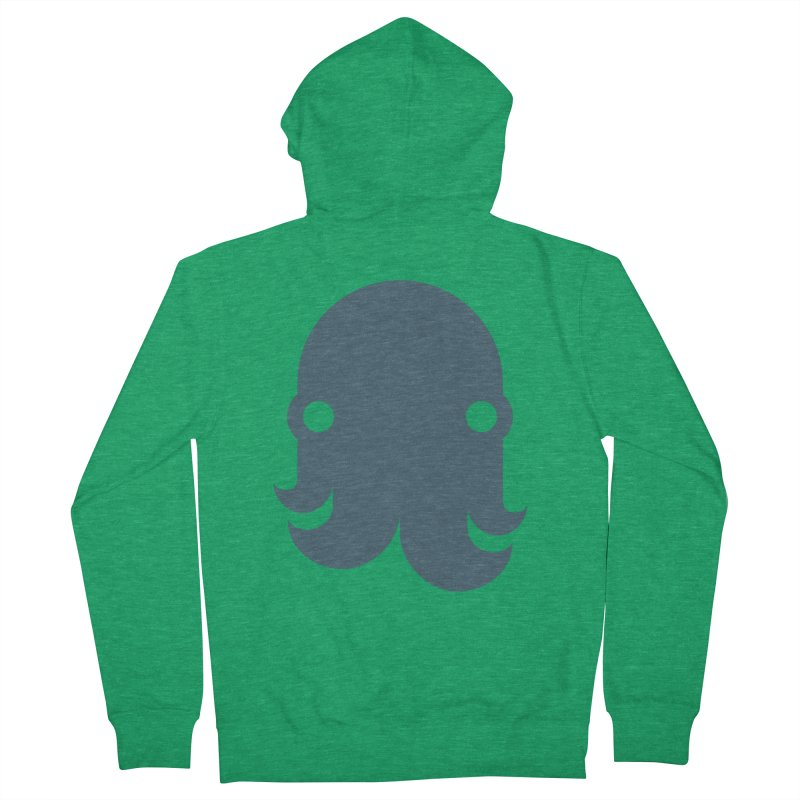 The Kraken! (Slate) Women's Zip-Up Hoody by octopy