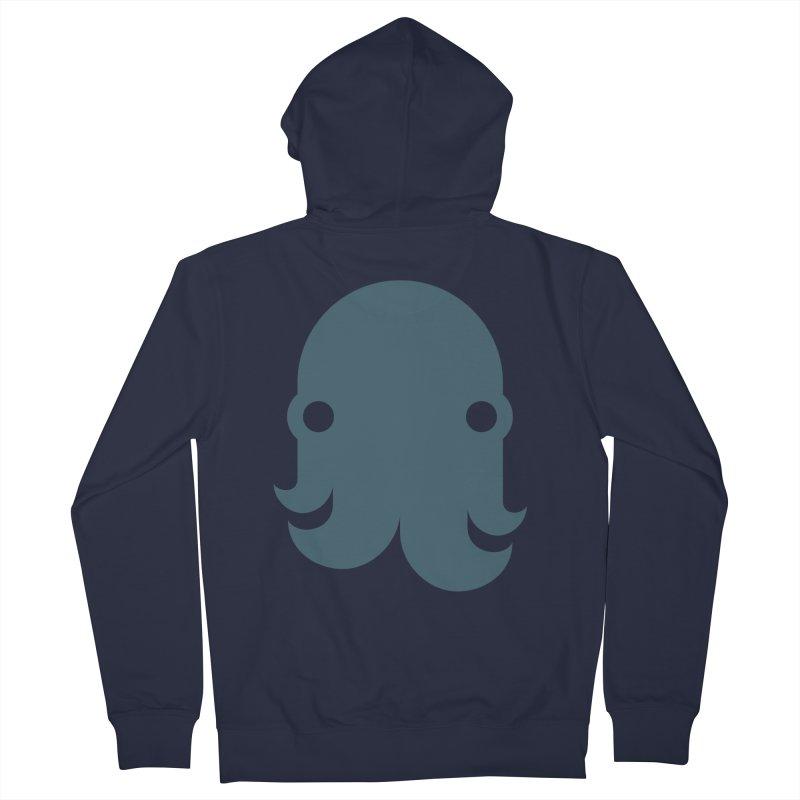 The Kraken! (Slate) Women's Zip-Up Hoody by octopy