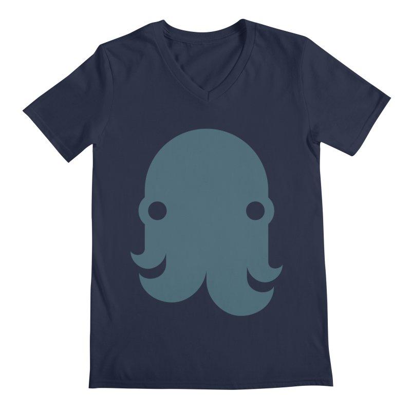 The Kraken! (Slate) Men's V-Neck by octopy