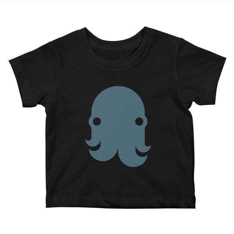 The Kraken! (Slate) Kids Baby T-Shirt by octopy