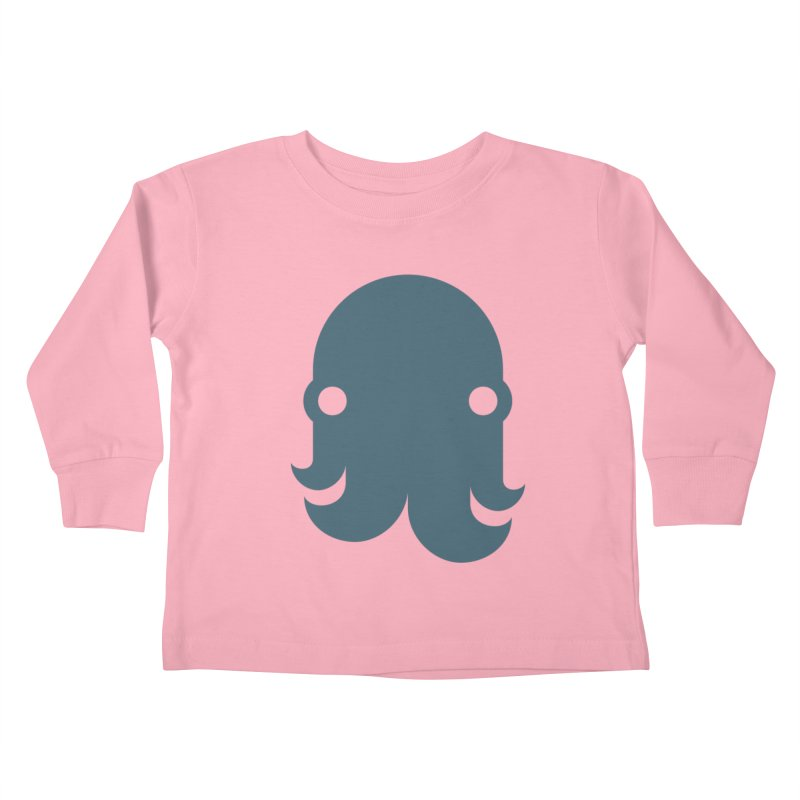 The Kraken! (Slate) Kids Toddler Longsleeve T-Shirt by octopy