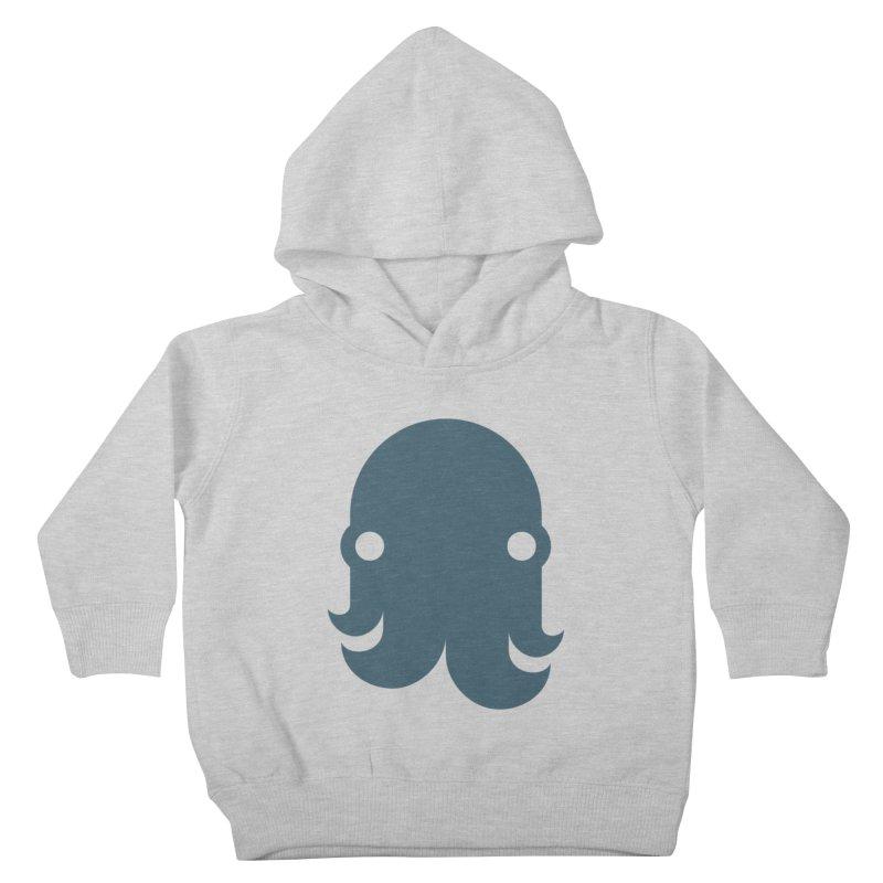 The Kraken! (Slate) Kids Toddler Pullover Hoody by octopy