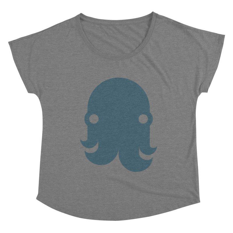 The Kraken! (Slate) Women's Scoop Neck by octopy