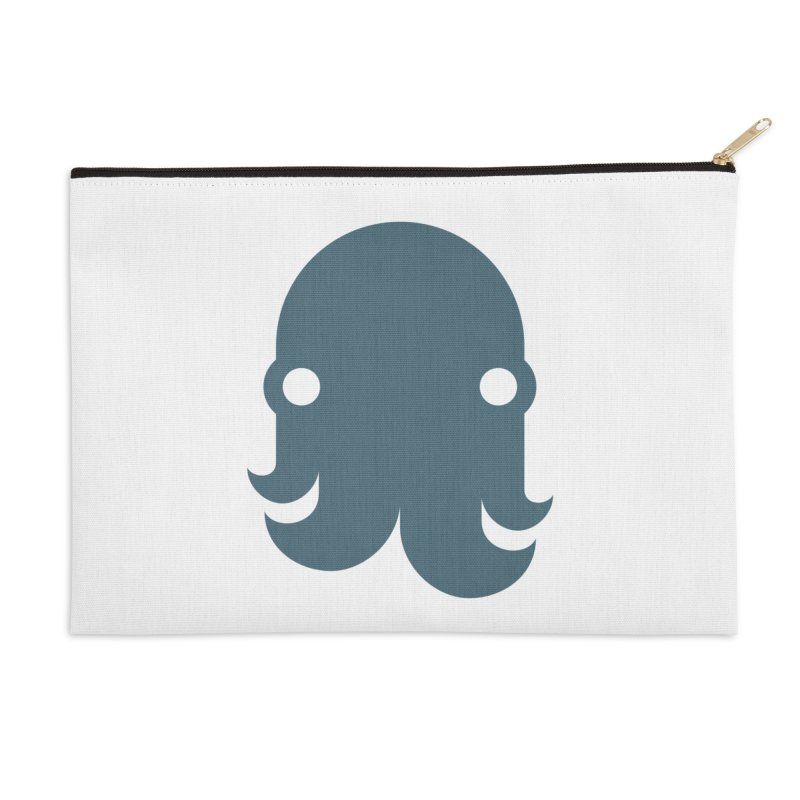 The Kraken! (Slate) Accessories Zip Pouch by octopy