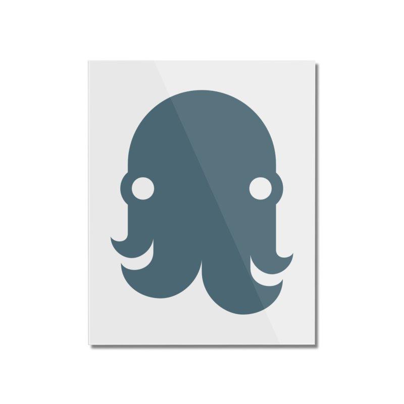 The Kraken! (Slate) Home Mounted Acrylic Print by octopy
