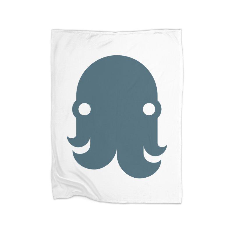 The Kraken! (Slate) Home Blanket by octopy