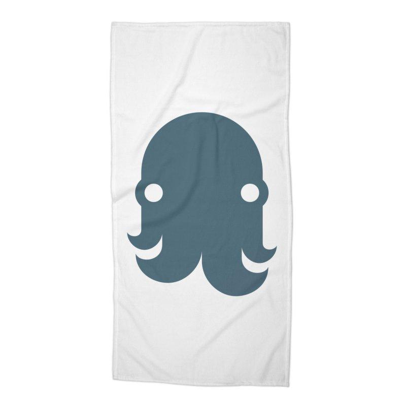 The Kraken! (Slate) Accessories Beach Towel by octopy