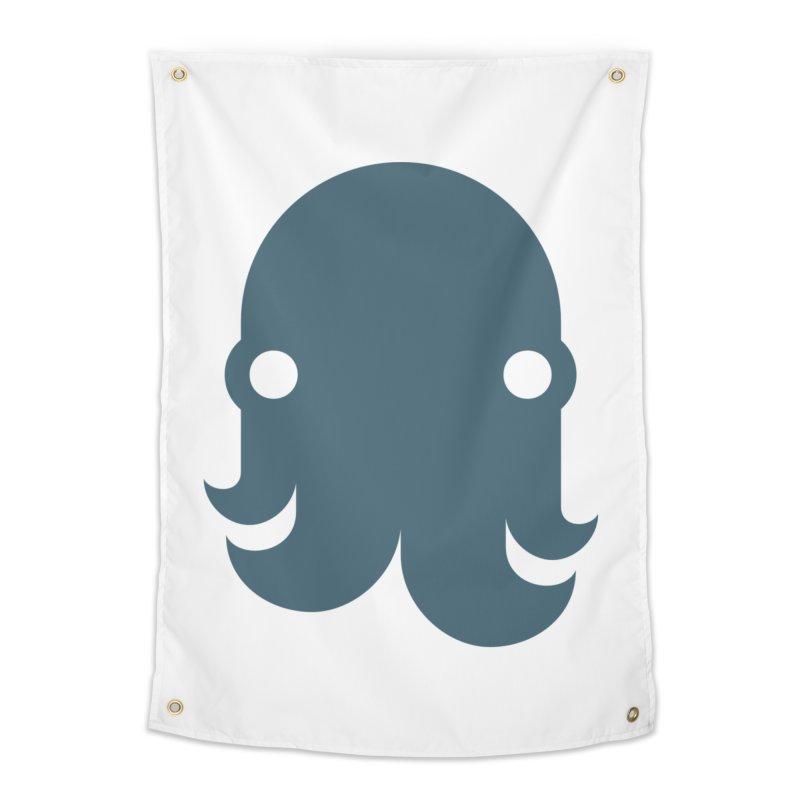 The Kraken! (Slate) Home Tapestry by octopy