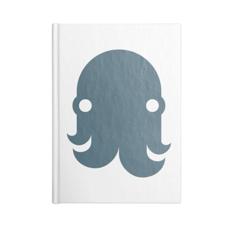 The Kraken! (Slate) Accessories Notebook by octopy