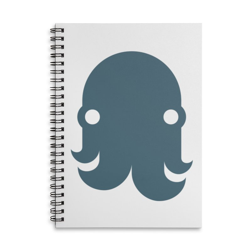 The Kraken! (Slate) Accessories Notebook by octopy