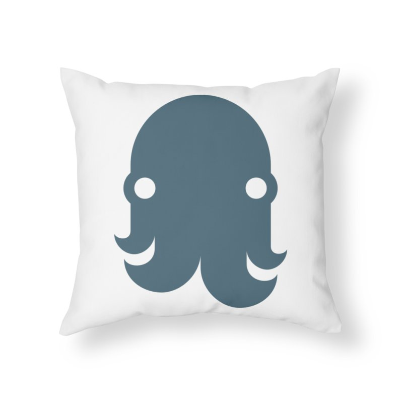 The Kraken! (Slate) Home Throw Pillow by octopy