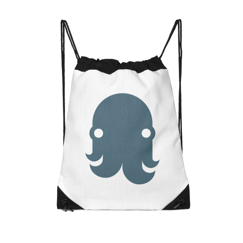 The Kraken! (Slate) Accessories Bag by octopy