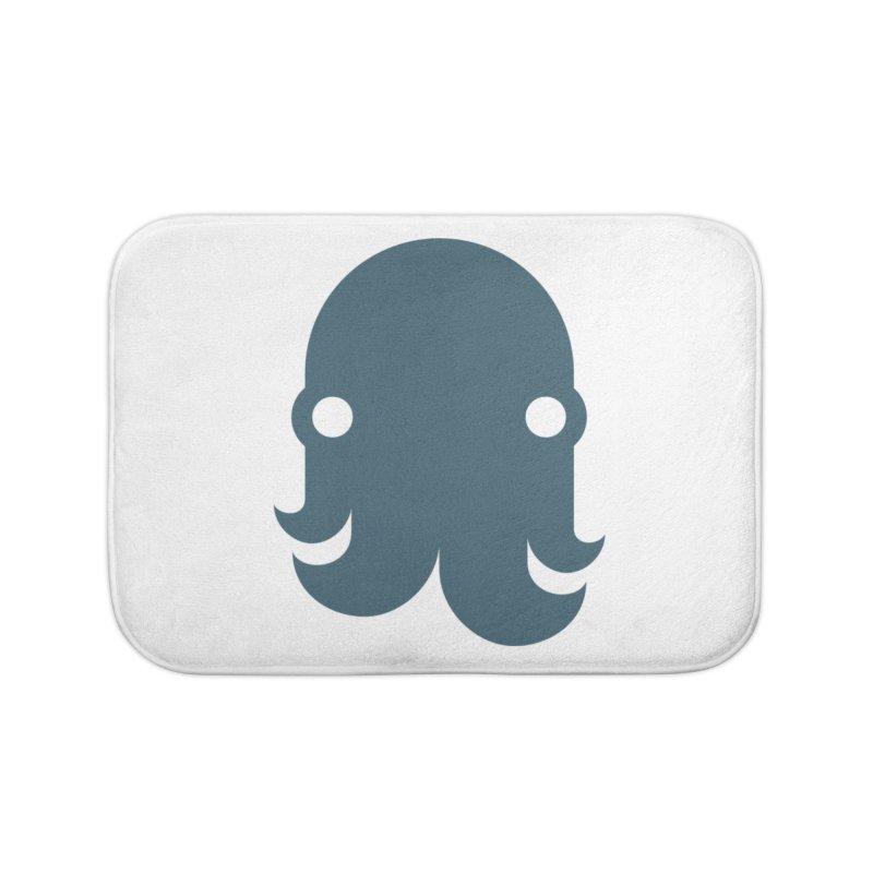 The Kraken! (Slate) Home Bath Mat by octopy