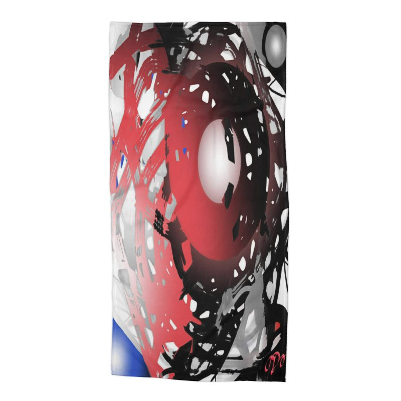 Chaos Practice Accessories Beach Towel by Odd Dad Out Shop