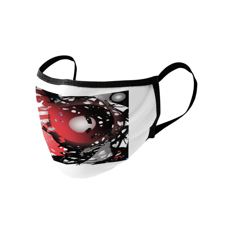 Chaos Practice Accessories Face Mask by Odd Dad Out Shop