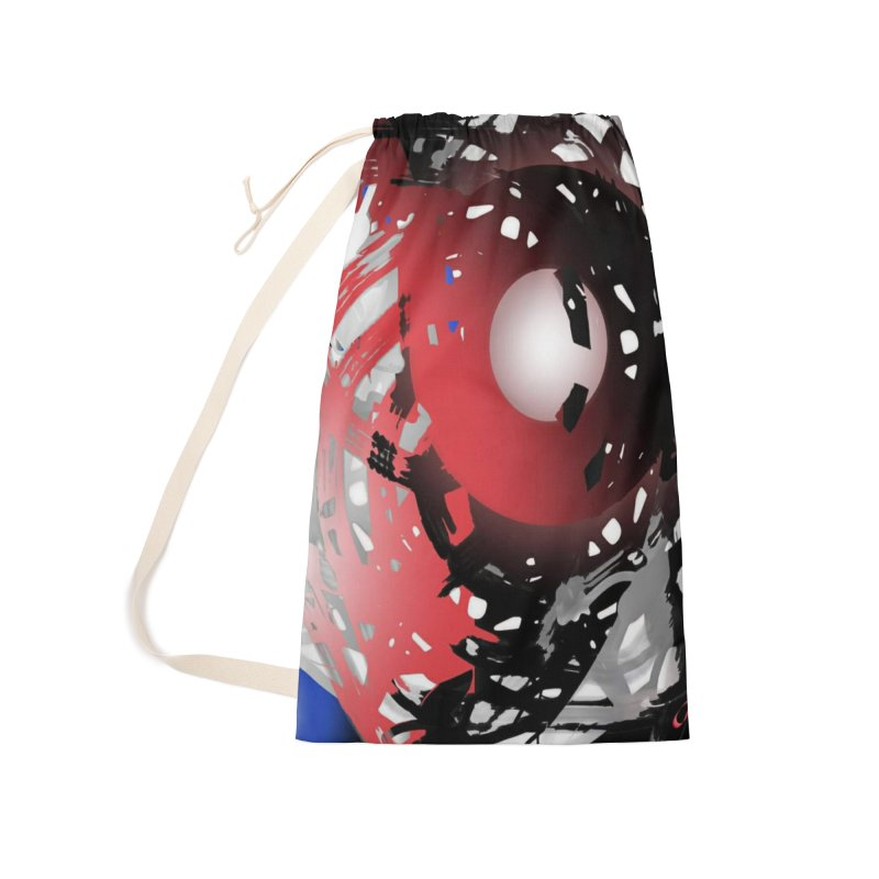 Chaos Practice Accessories Laundry Bag Bag by Odd Dad Out Shop
