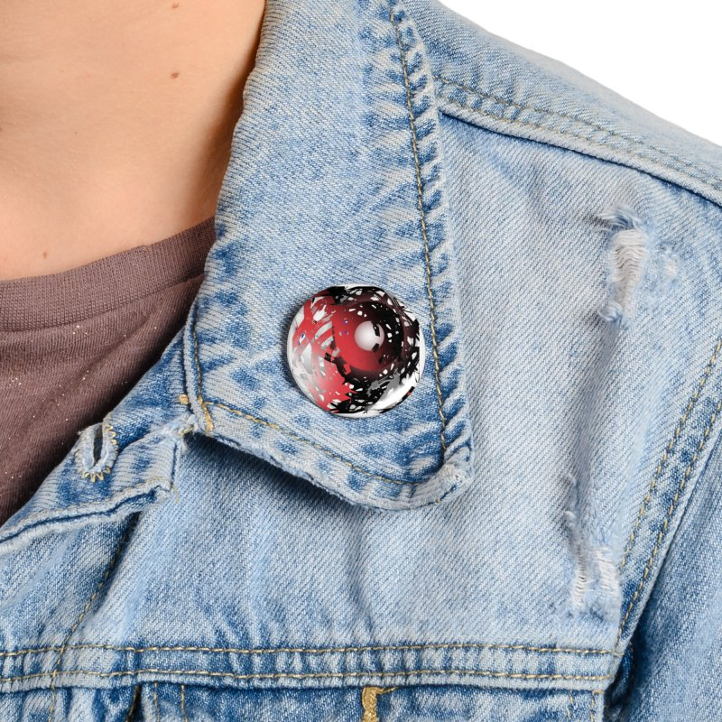 Chaos Practice Accessories Button by Odd Dad Out Shop