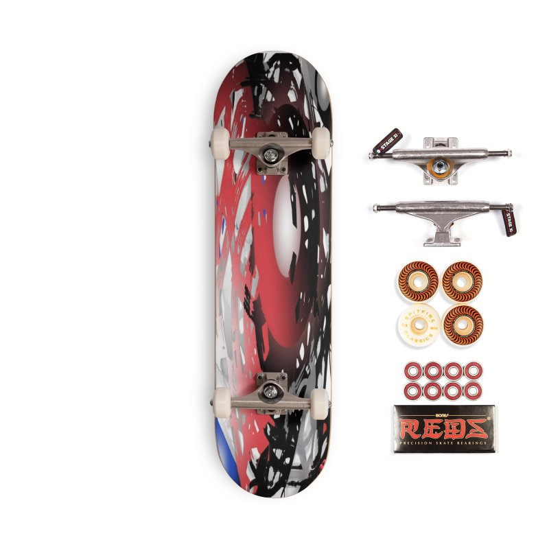 Chaos Practice Accessories Skateboard by Odd Dad Out Shop