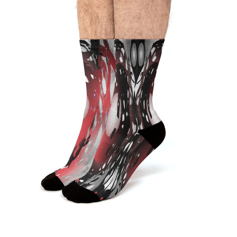 Chaos Practice Men's Socks by Odd Dad Out Shop