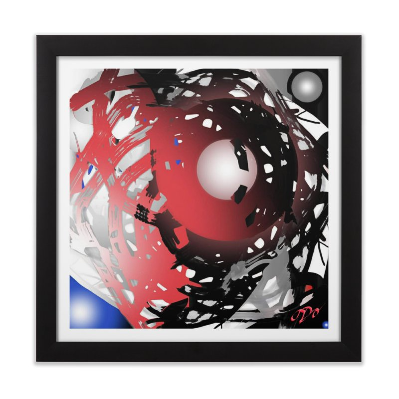 Chaos Practice Home Framed Fine Art Print by Odd Dad Out Shop