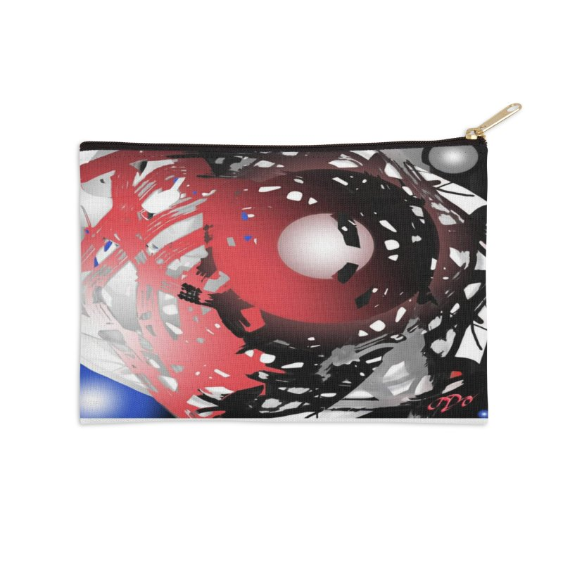 Chaos Practice Accessories Zip Pouch by Odd Dad Out Shop