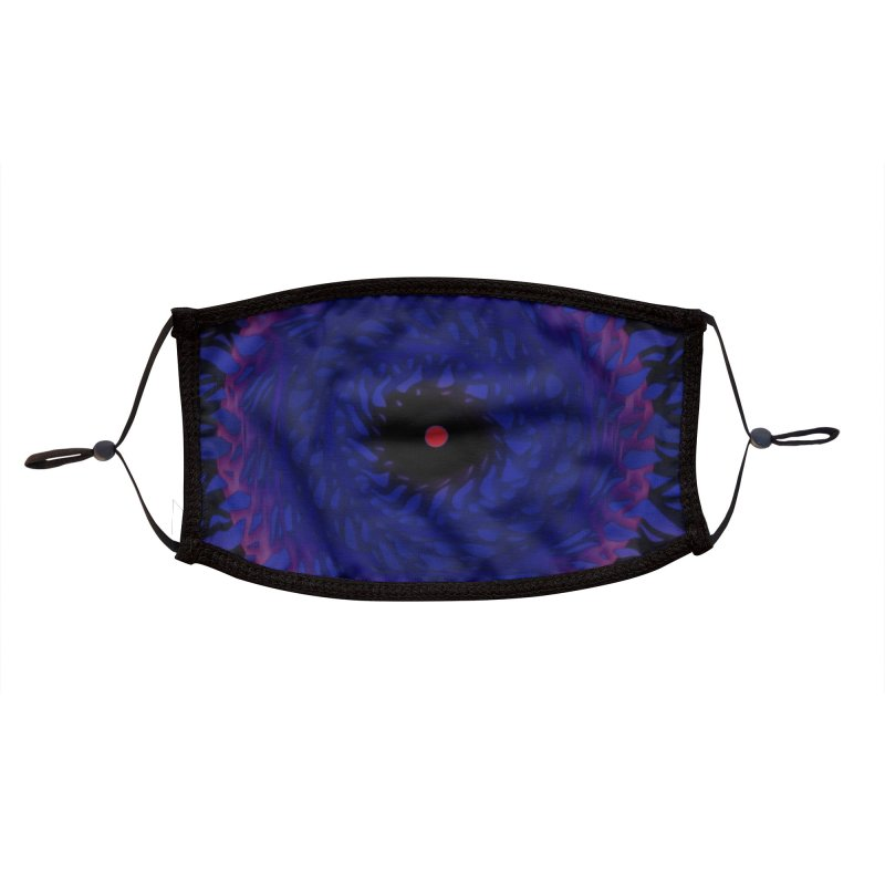 Chaos Eye Accessories Face Mask by Odd Dad Out Shop