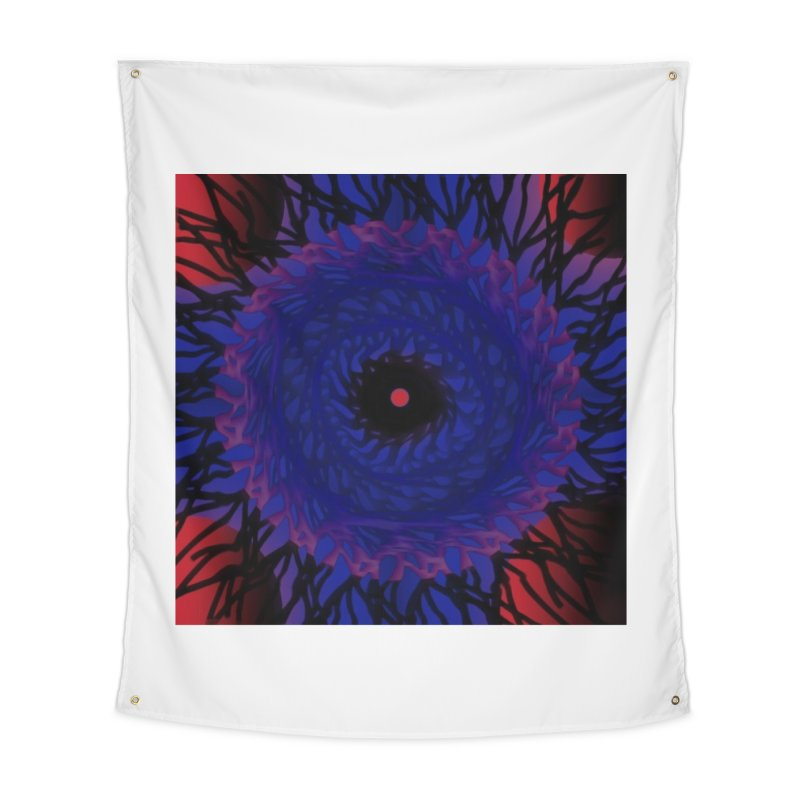 Chaos Eye Home Tapestry by Odd Dad Out Shop
