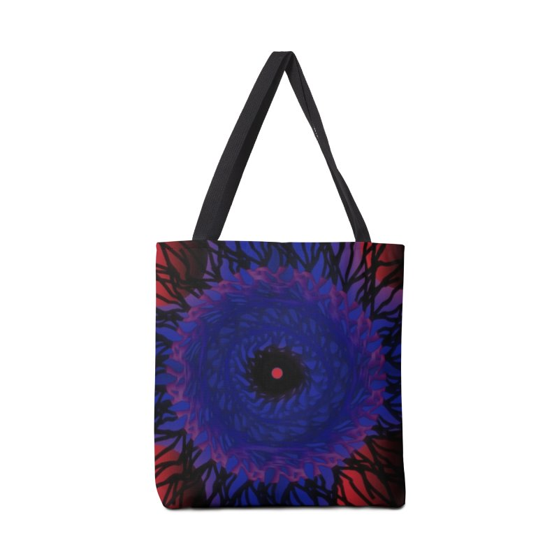 Chaos Eye Accessories Bag by Odd Dad Out Shop