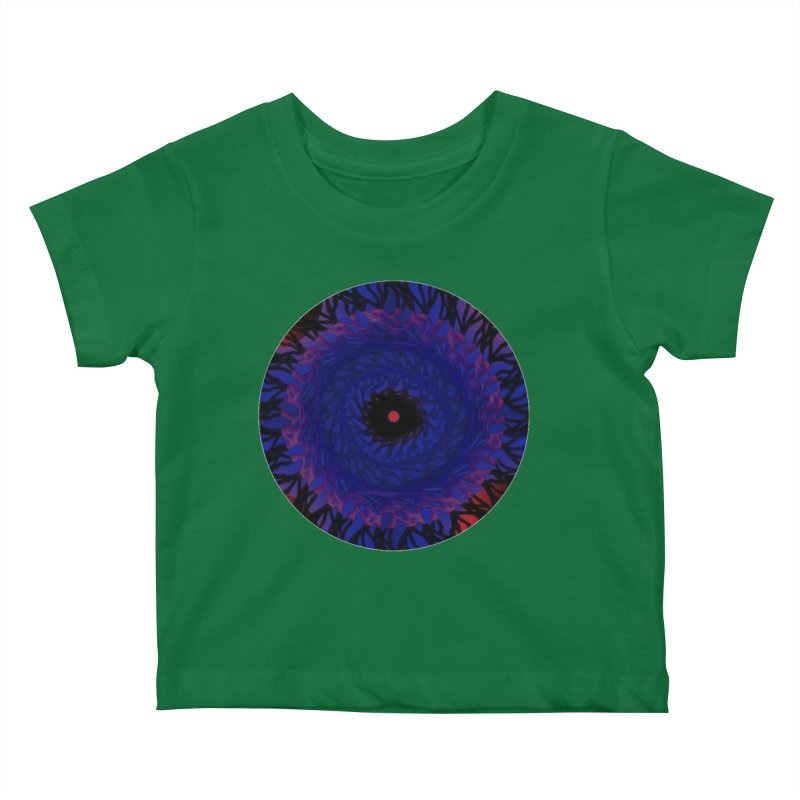 Chaos Eye Kids Baby T-Shirt by Odd Dad Out Shop