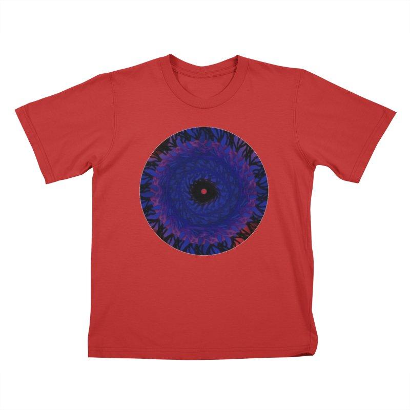 Chaos Eye Kids T-Shirt by Odd Dad Out Shop