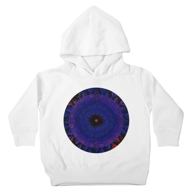 Chaos Eye Kids Toddler Pullover Hoody by Odd Dad Out Shop