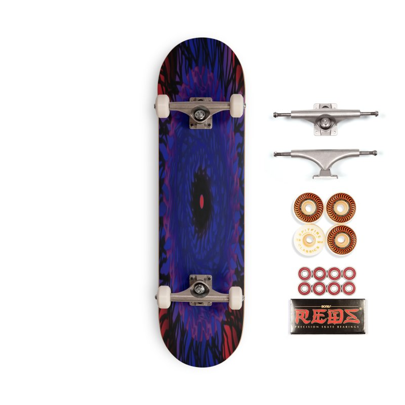 Chaos Eye Accessories Skateboard by Odd Dad Out Shop
