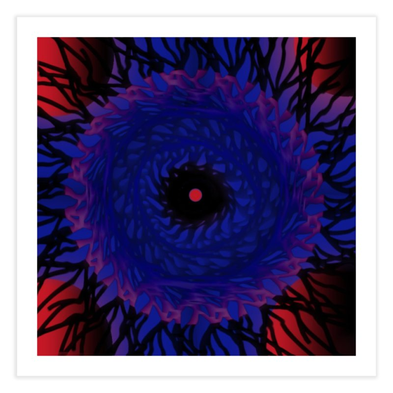 Chaos Eye Home Fine Art Print by Odd Dad Out Shop