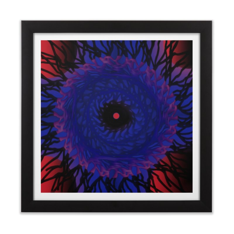 Chaos Eye Home Framed Fine Art Print by Odd Dad Out Shop
