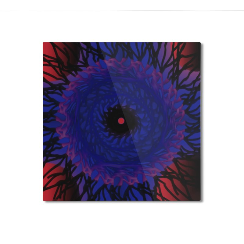 Chaos Eye Home Mounted Aluminum Print by Odd Dad Out Shop