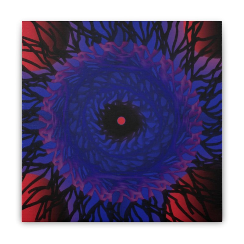Chaos Eye Home Stretched Canvas by Odd Dad Out Shop