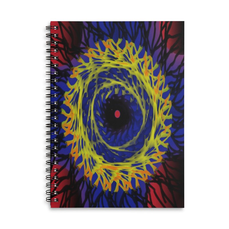 Chaos Eye (Variant) Accessories Notebook by Odd Dad Out Shop